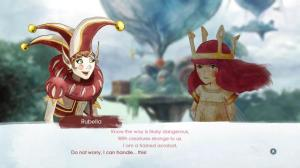 Character conversation in Child of Light