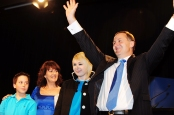 John Key and family